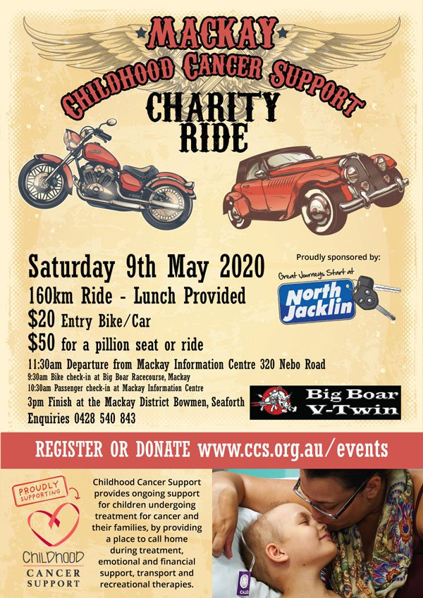Mackay Charity Ride 2020 small